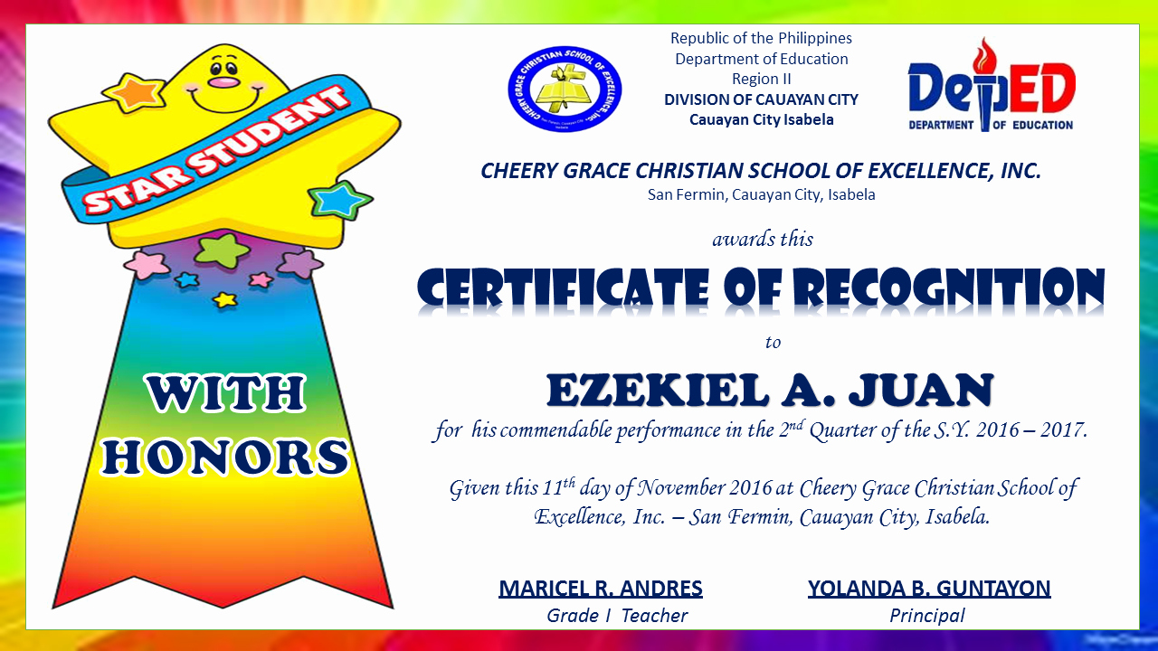 Junior Achievement Certificate Of Achievement Template Inspirational Pin by Prescilla andres Regis On Prince