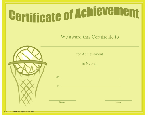 Junior Achievement Certificate Of Achievement Template Luxury A Printable Certificate Of Achievement Honoring Excellence