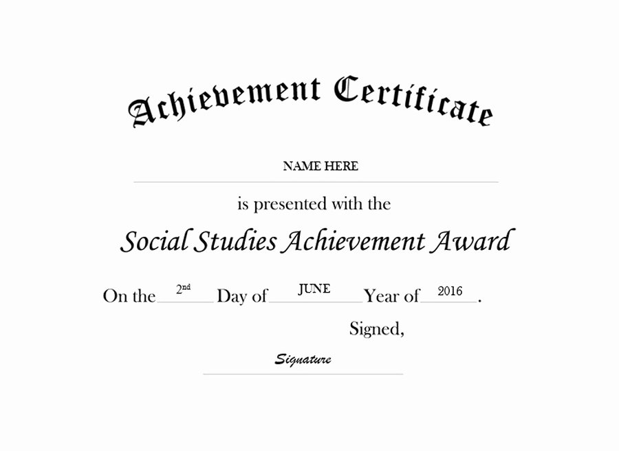 Junior Achievement Certificate Of Achievement Template Luxury Free Templates Clip Art & Suggested Wording Geographics