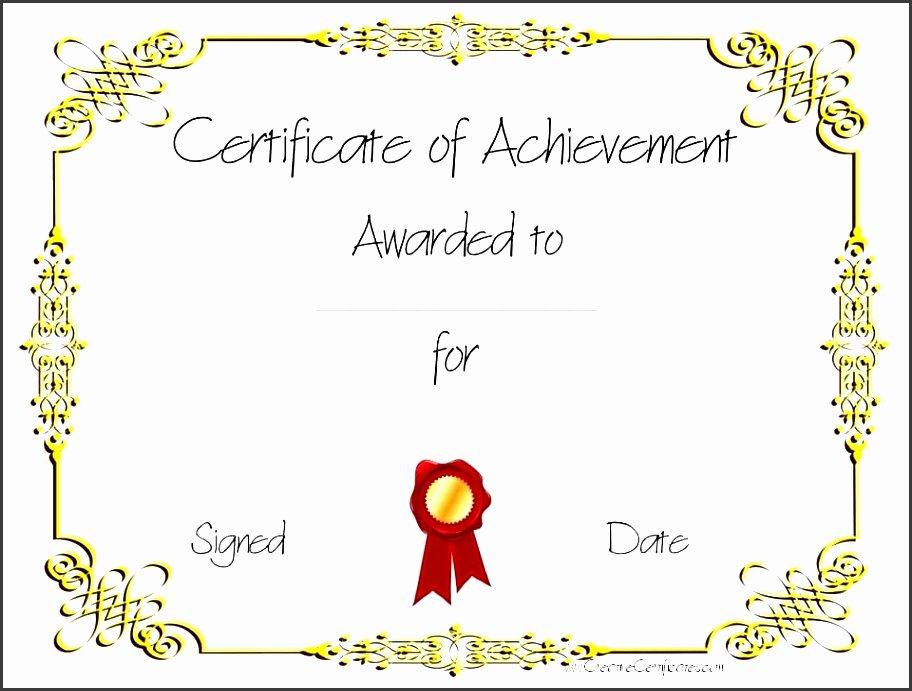 Junior Achievement Certificate Template Luxury 11 Certificate Pletion Template Printable