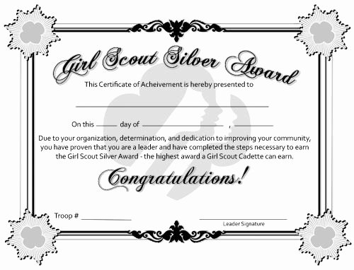 Junior Achievement Certificate Template Unique Free Printable Bronze Silver and Gold Award Certificates