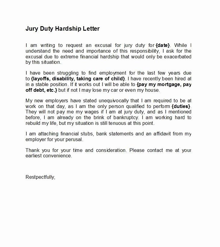 Jury Duty Excuse Letter Employer Best Of 33 Best Jury Duty Excuse Letters [ Tips] Template Lab