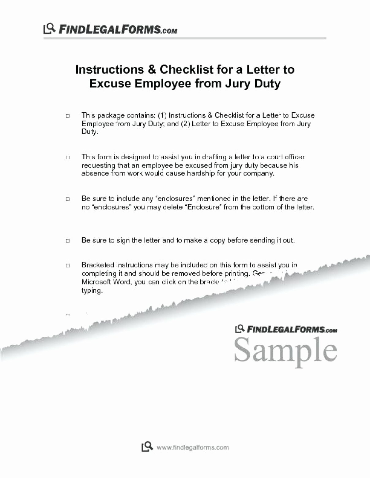 Jury Duty Letter Of Excuse From Employer Sample New 12 13 Letter to Be Excused From Jury Duty