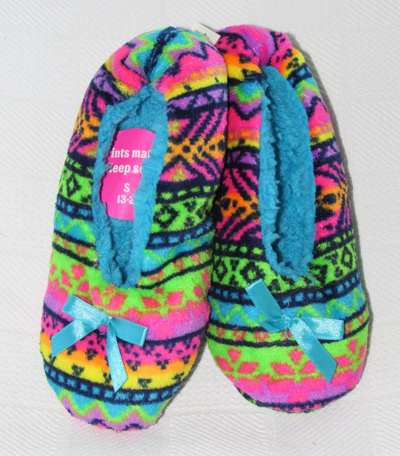 Justice Size Chart Unique Justice Girls Fair isle Slippers Multi Color Size S