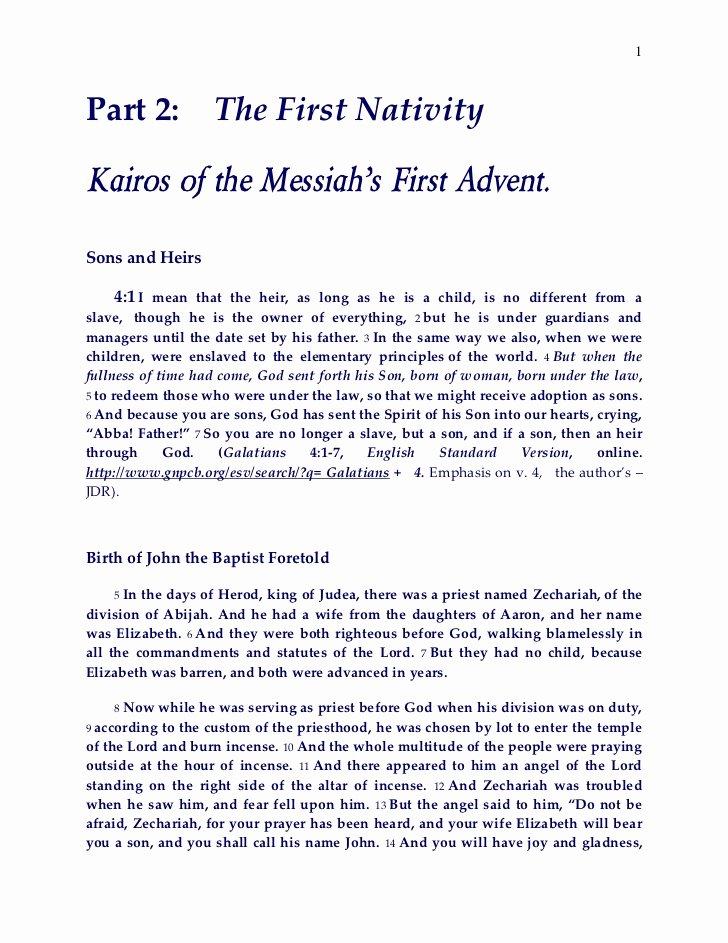 Kairos Letter Samples Best Of Part 2 the Kairos the Messiah R 2