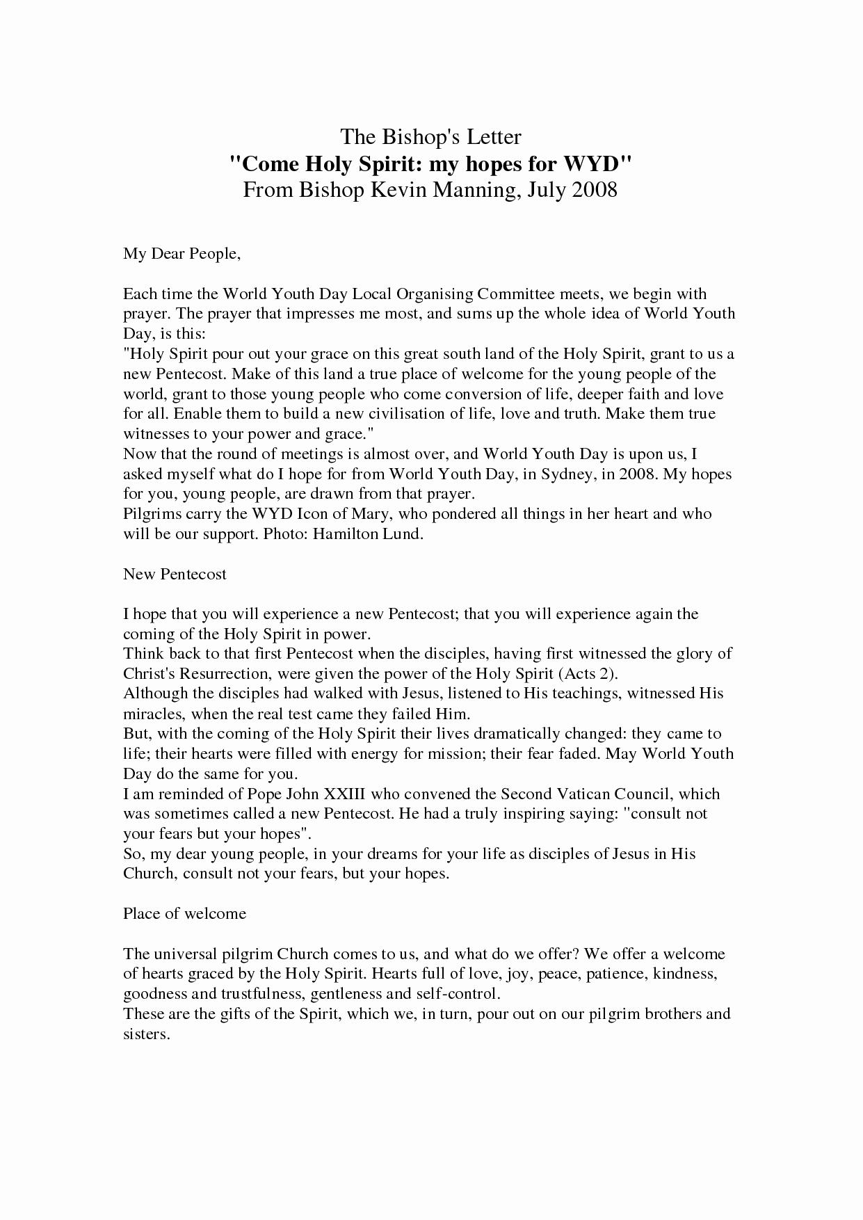 Kairos Letter Samples Fresh Best S Of Catholic Palanca Letters Sample Retreat