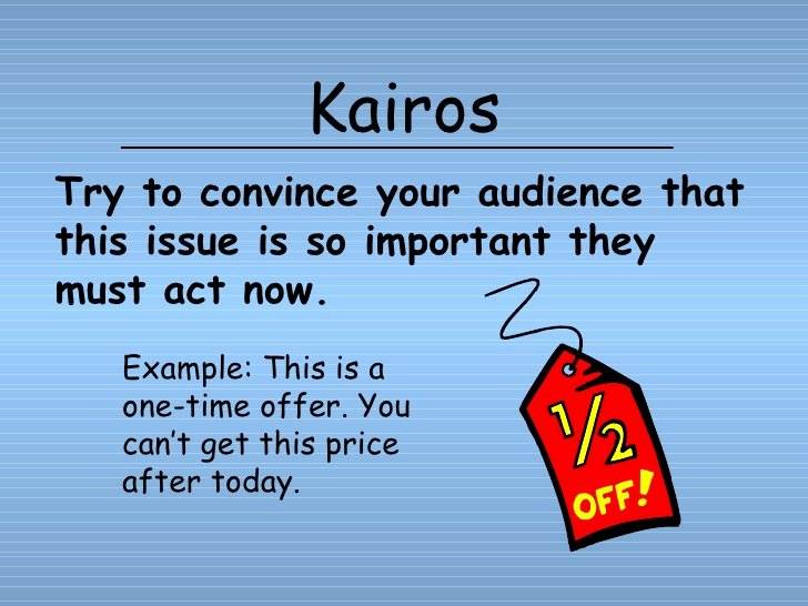 Kairos Letters Examples Unique Persuasive Strategies