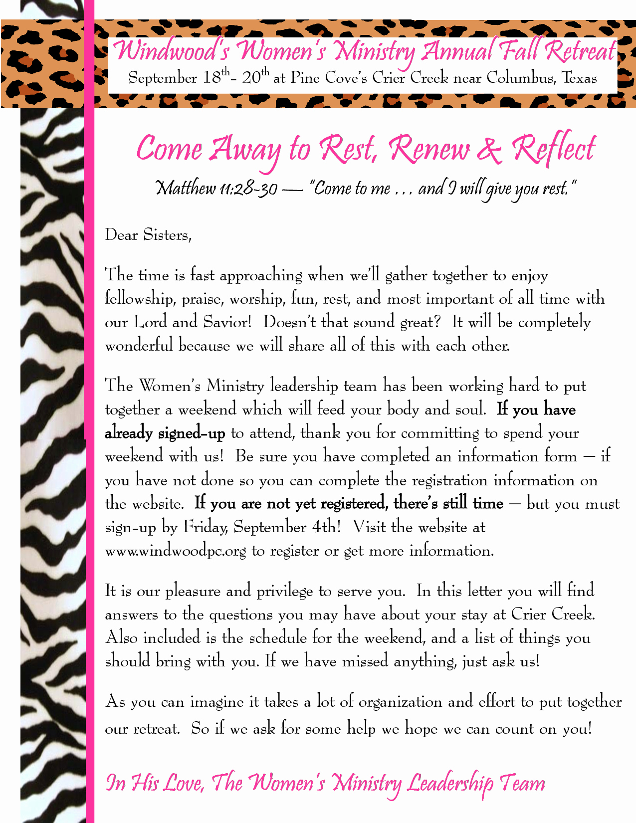 Kairos Letters From Parents Awesome Other Template Category Page 113 Dahkai