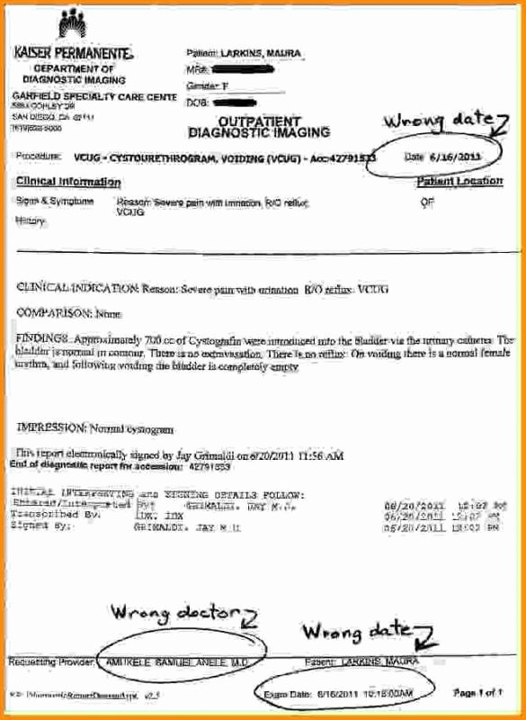 Kaiser Dr Note Best Of Kaiser Doctors Note