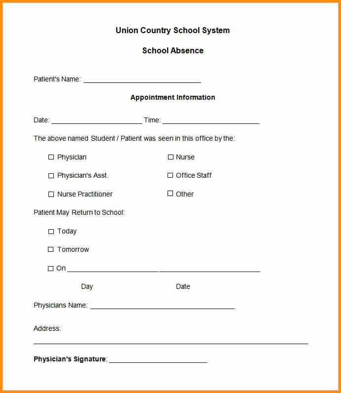Kaiser Dr Note for Work Lovely Urgent Care Doctors Note Template