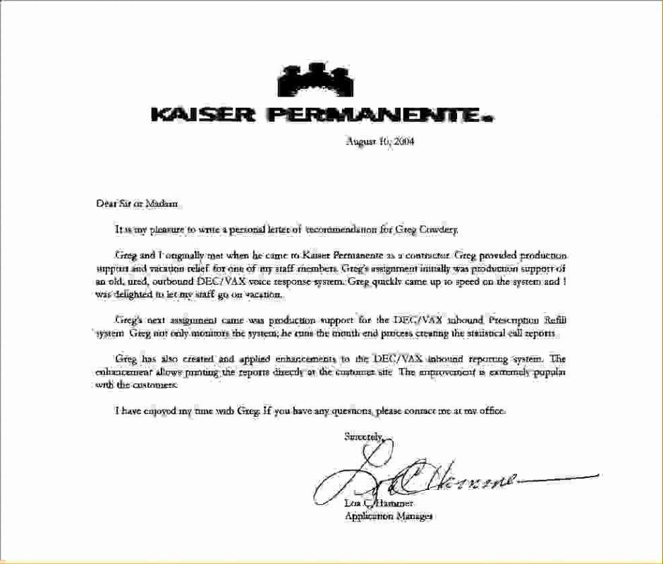 kaiser doctors note