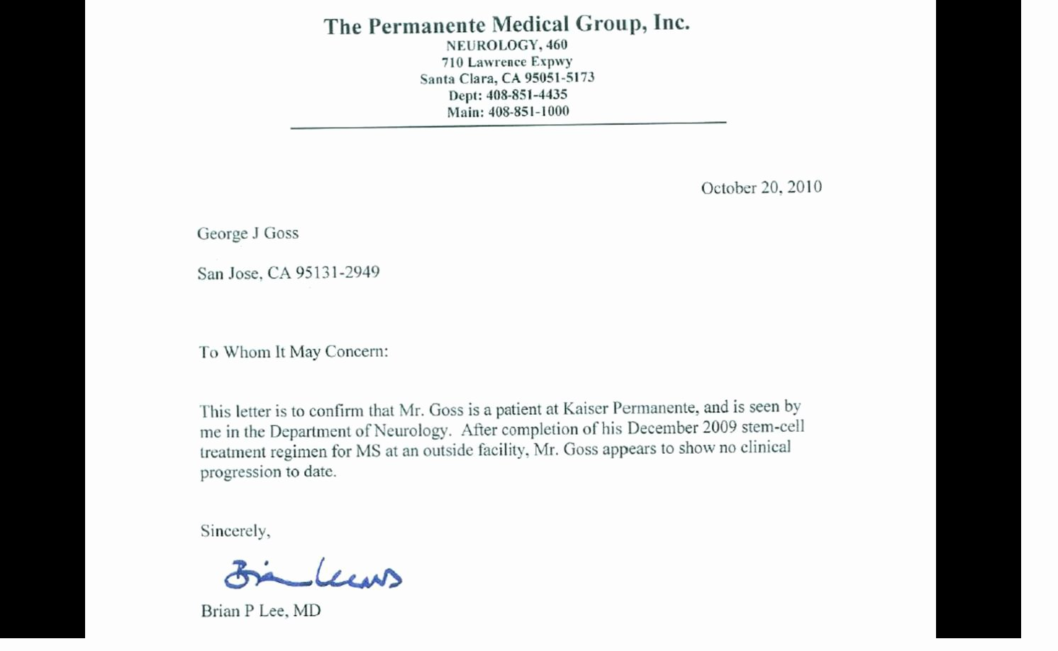 Kaiser Permanente Doctors Note Fresh Fake Doctors Note for Work Kaiser Permanente Happy Living