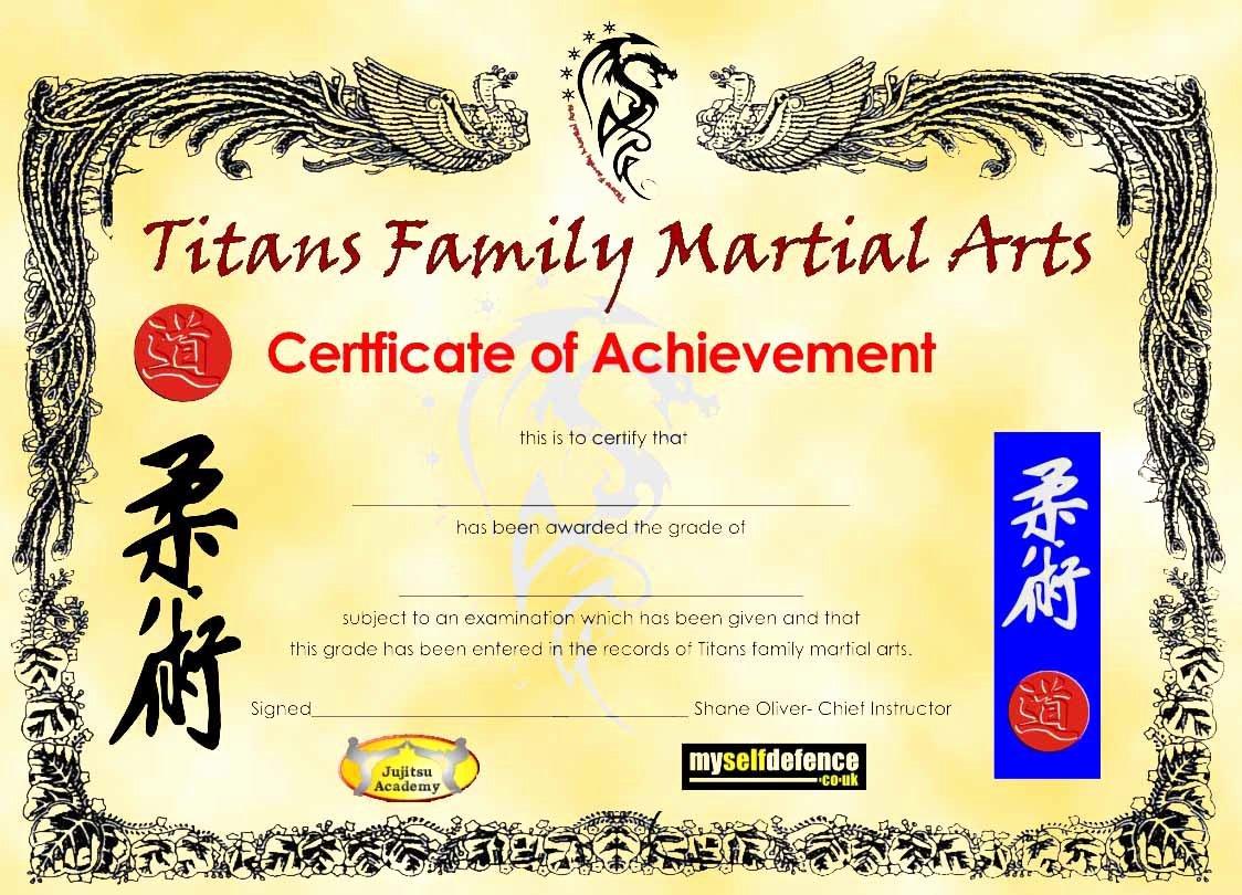 Karate Certificate Templates Free Download Fresh Phairzios Karate Certificate Templates
