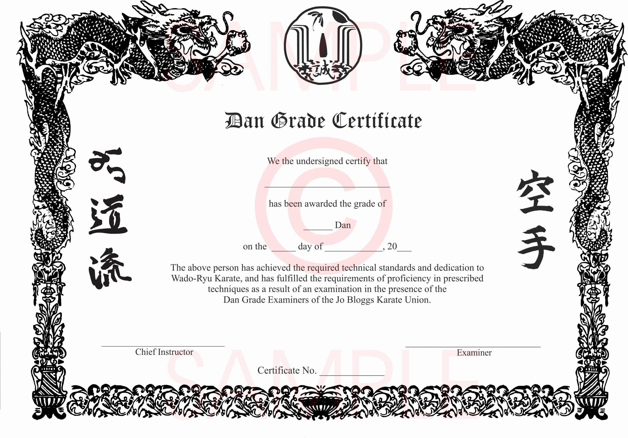 Karate Certificate Templates Free Download New Pin by Jim Moscatello On Prjoects