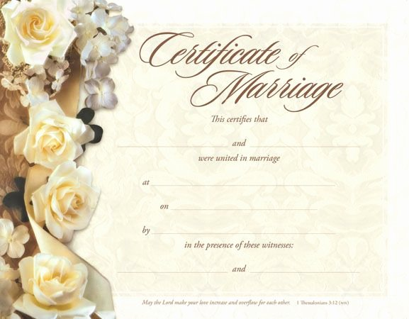 Keepsake Marriage Certificate Template Awesome Make A Free Marriage Certificate