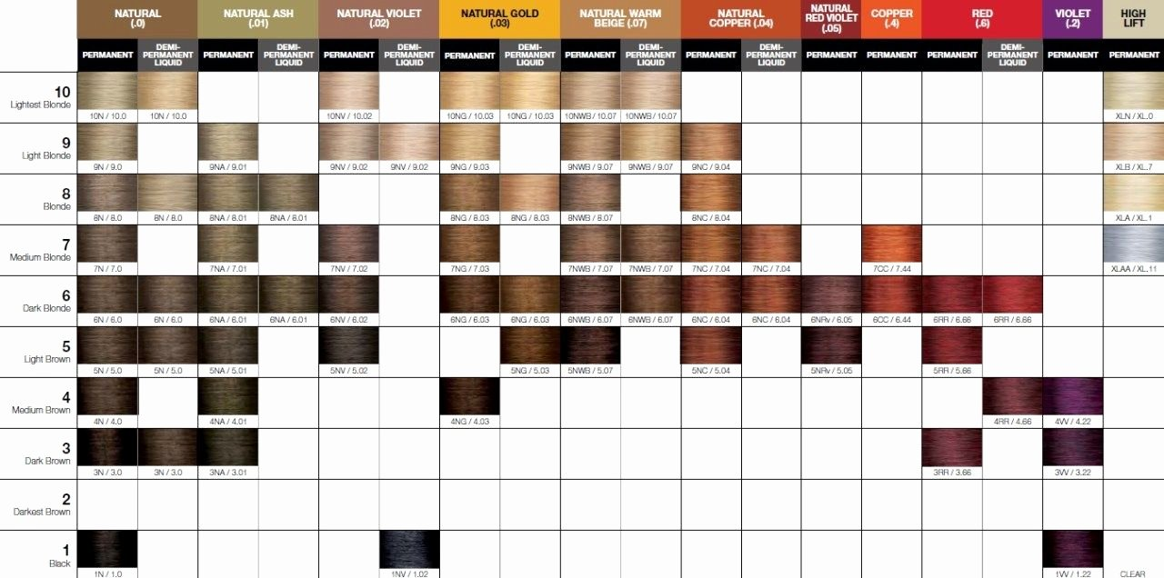 Kenra Demi Color Chart Best Of Joico Lumishine Color Swatch Chart