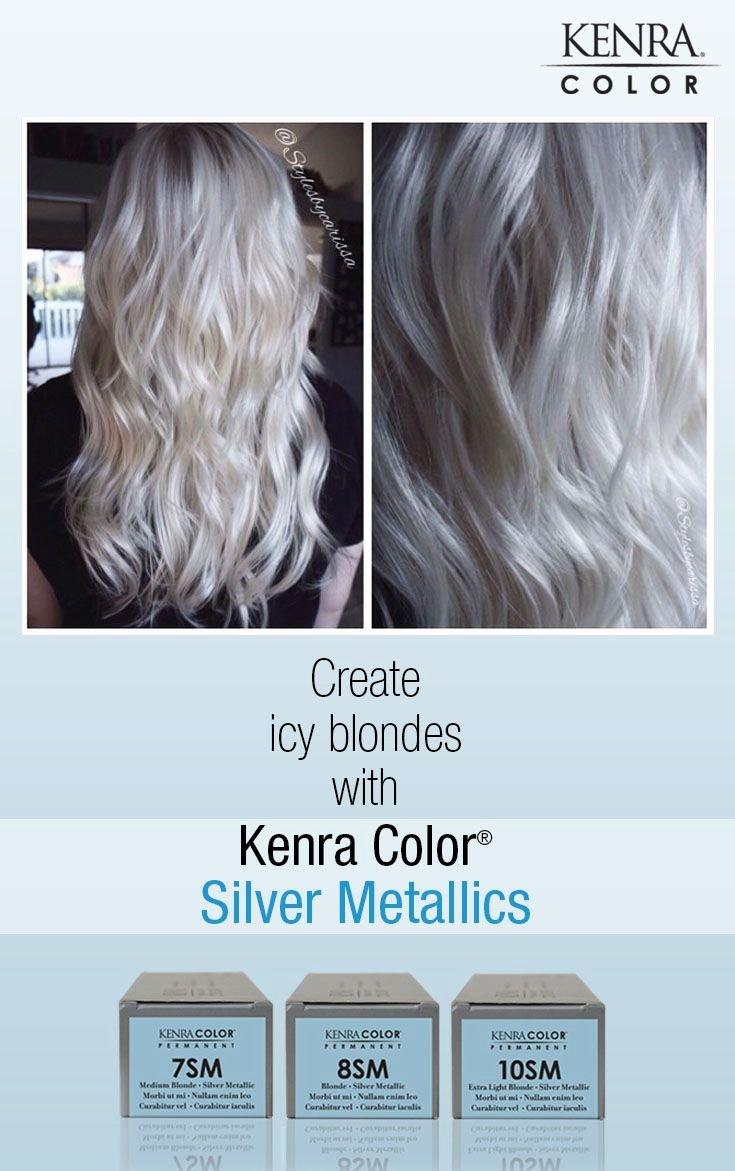 Kenra Demi Color Chart Elegant Work by Carissa Harper She Used Kenra Color Lightener