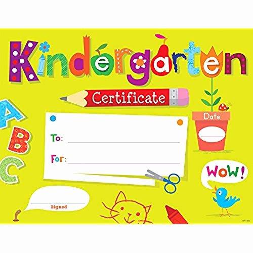 Kindergarten Certificates Free Printable Beautiful Kindergarten Graduation Certificates Amazon