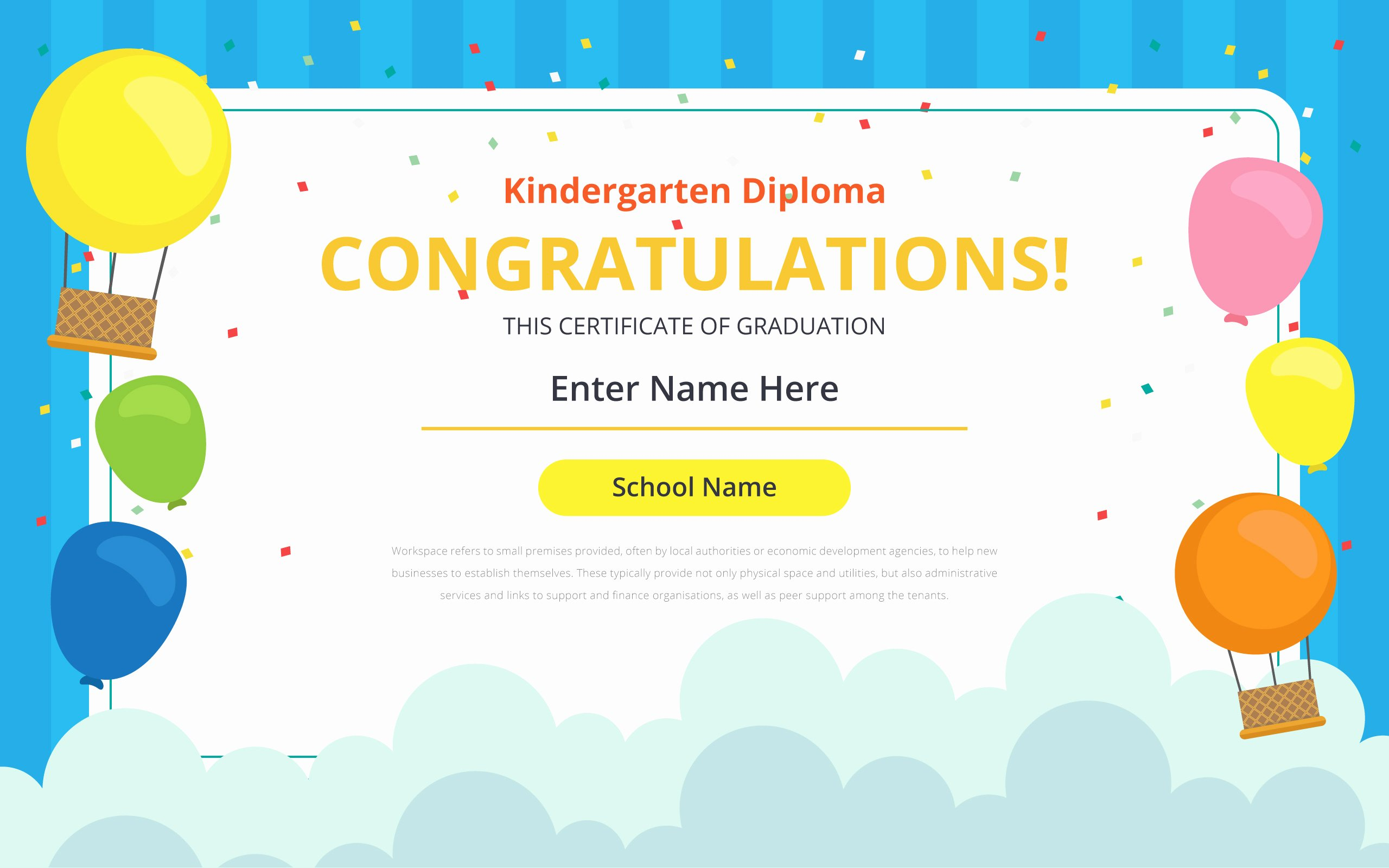 Kindergarten Diploma Template Free Luxury Kindergarten Certificate Free Vector Art 21 Free Downloads