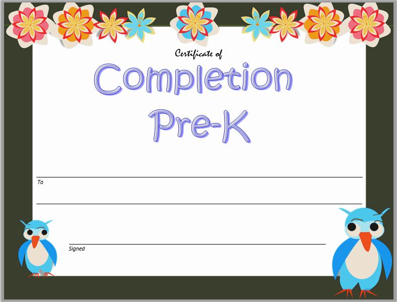 Kindergarten Graduation Certificate Free Printable Elegant 10 Free Editable Pre K Graduation Certificates [word Pdf]
