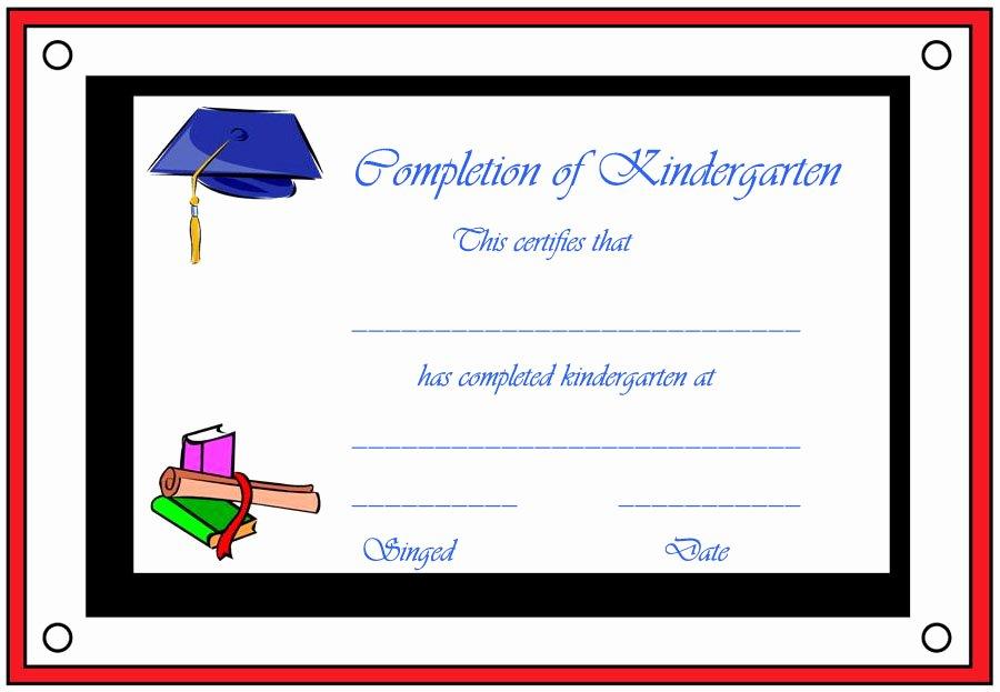 Kindergarten Graduation Certificate Free Printable Inspirational Free Printable Preschool Graduation Certificates