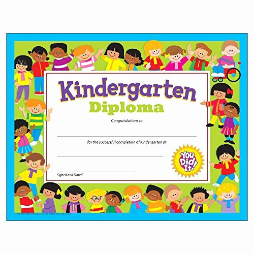 Kindergarten Graduation Certificate Free Printable Lovely Kindergarten Graduation Certificates Amazon