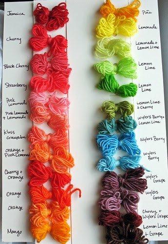 Kool Aid Hair Dye Color Chart Luxury ashley Akers My Kool Aid Dyeing Workshop