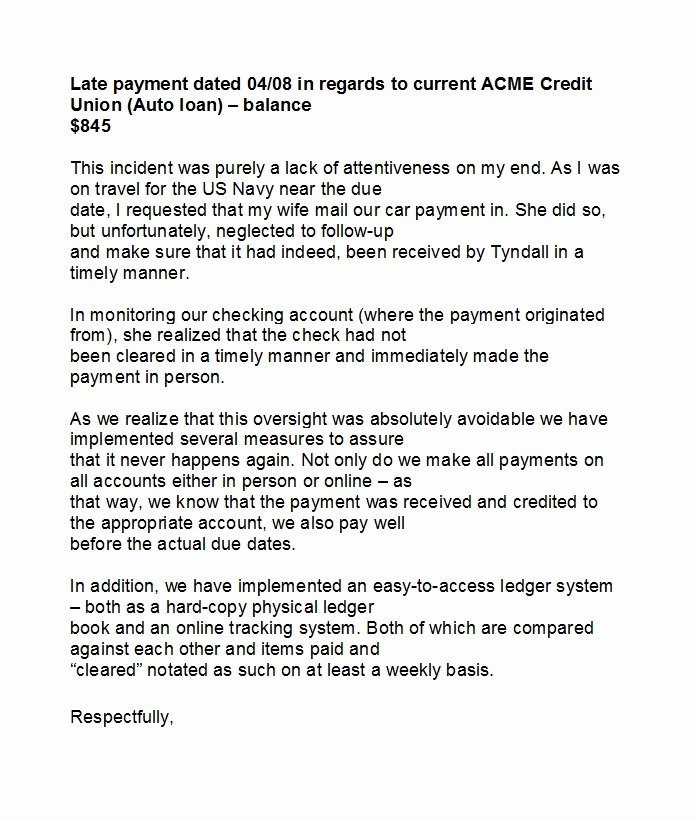 Late Payment Explanation Letter for Mortgage Elegant 48 Letters Explanation Templates Mortgage Derogatory