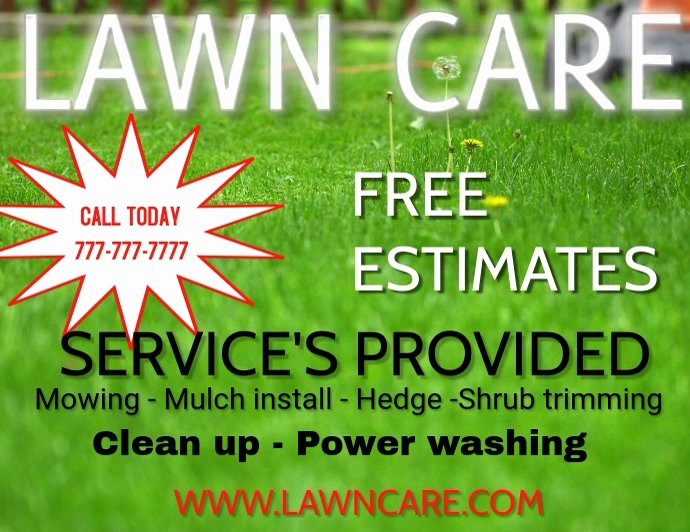 Lawn Care Flyers Free Inspirational Lawn Care Landscaping Grass Cutting Small Business Flyers