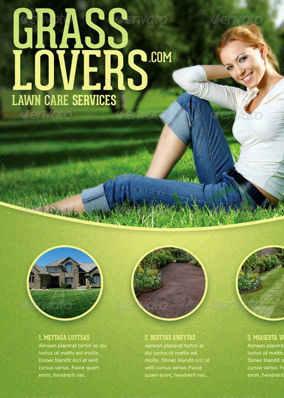 Lawn Care Flyers Free Lovely 29 Lawn Care Flyers Psd Ai Vector Eps