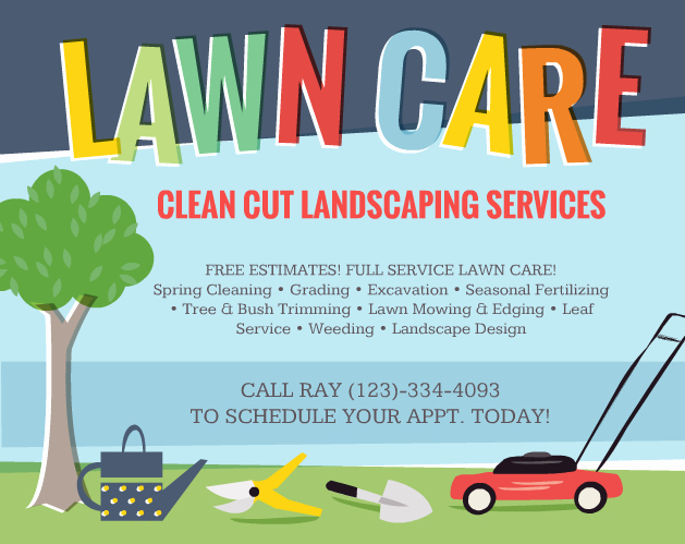 Lawn Care Flyers Free Unique Lawn Care Flyers – Should You Use them the Lawn solutions