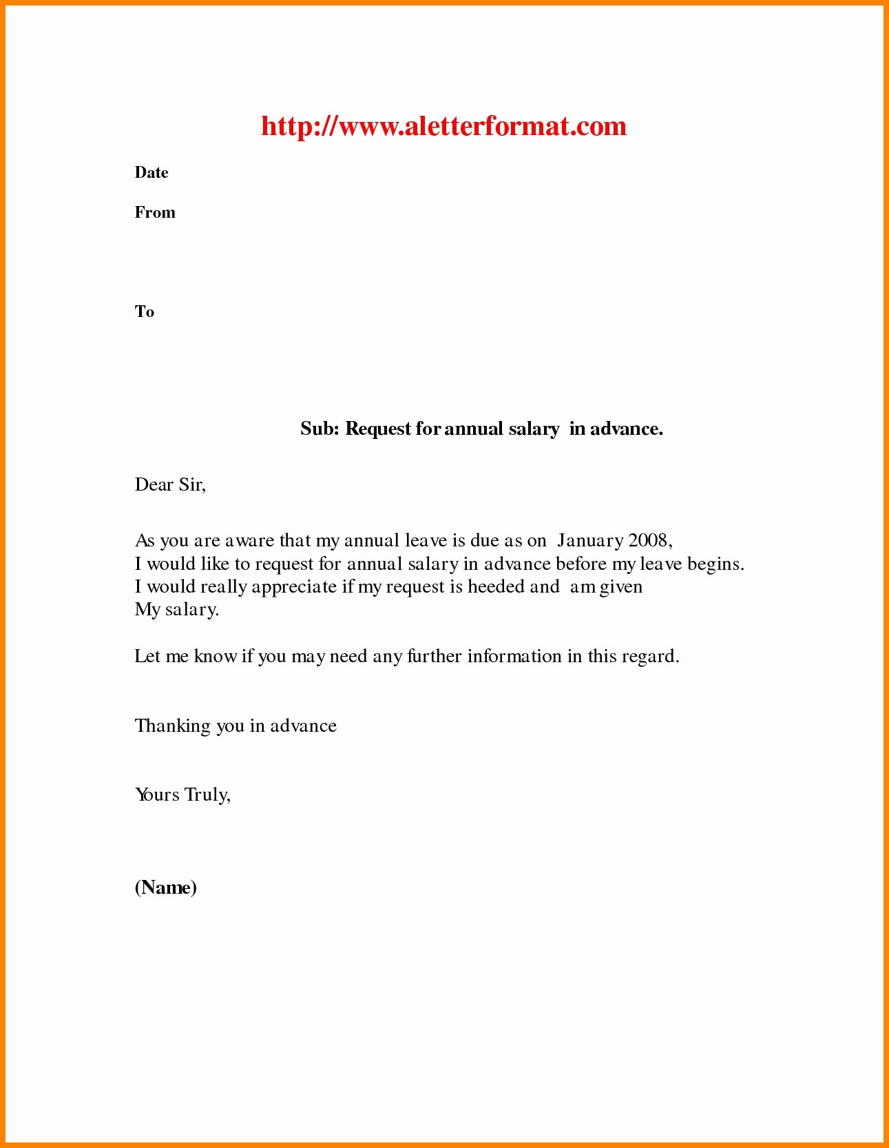 Leave Of Absence Letter for Personal Reasons Awesome Vacation Leave Letter Sample