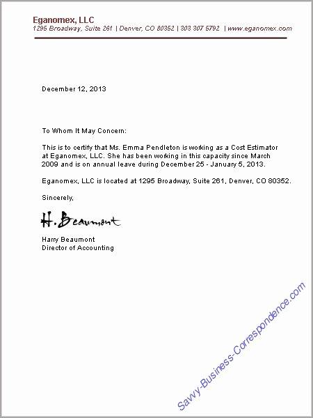 Letter Confirming Unemployment Unique Free Printable Letter Employment Verification form