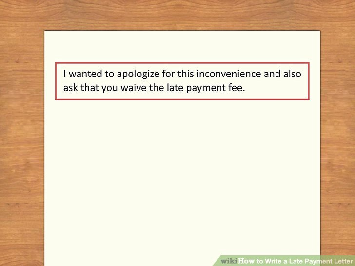 Letter Explanation Late Payment Best Of How to Write A Late Payment Letter 9 Steps with