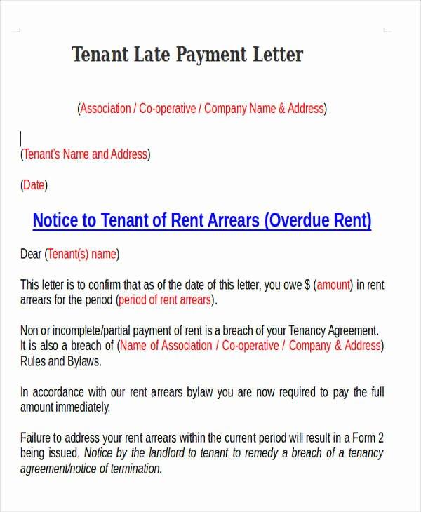 Letter Explanation Late Payment Unique 11 Late Payment Letter Templates Word Google Docs