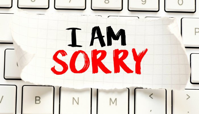 write an apology letter for making mistakes at work