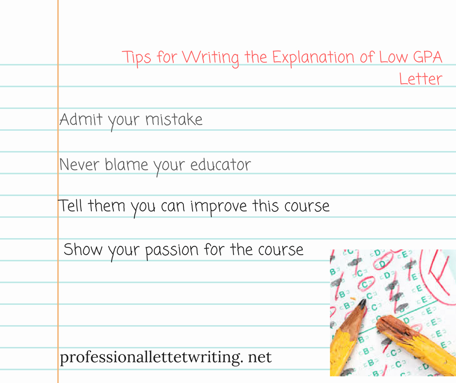 Letter for Explanation Of Mistake Made Lovely Useful Tips for Writing A Letter Explaining Low Gpa