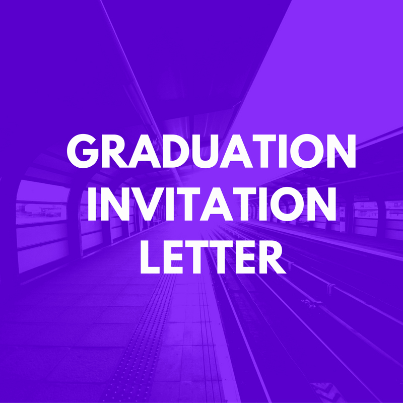 Letter for Graduation Elegant Graduation Invitation Letter for Uk Visa Invitation