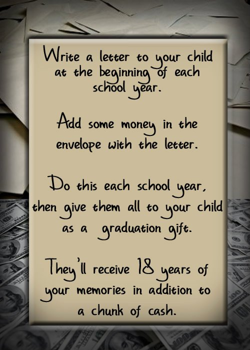 Letter for Graduation Inspirational Write A Letter to Your Child for Graduation