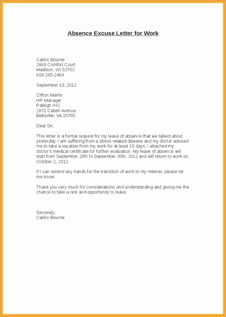 Letter From Employer to Get Out Of Jury Duty Elegant Fake Doctors Note Template for Work or School Pdf