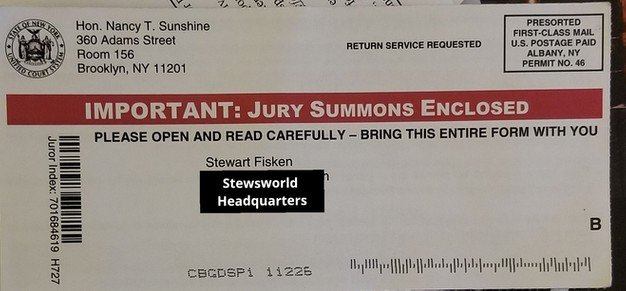 Letter From Employer to Get Out Of Jury Duty New Jury Duty An Unexpected Experience