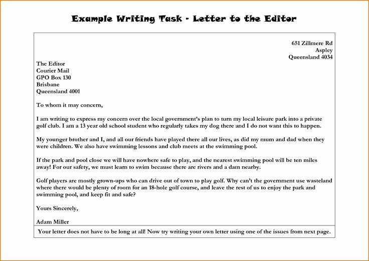 Letter From the Editor Example for Students Lovely Letter to the Editor Example Search Results