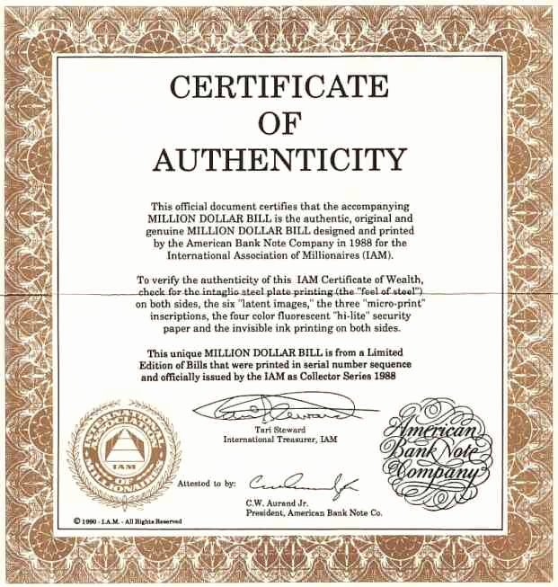 Letter Of Authenticity Template Elegant Certificate Authenticity Templates Word Excel Samples