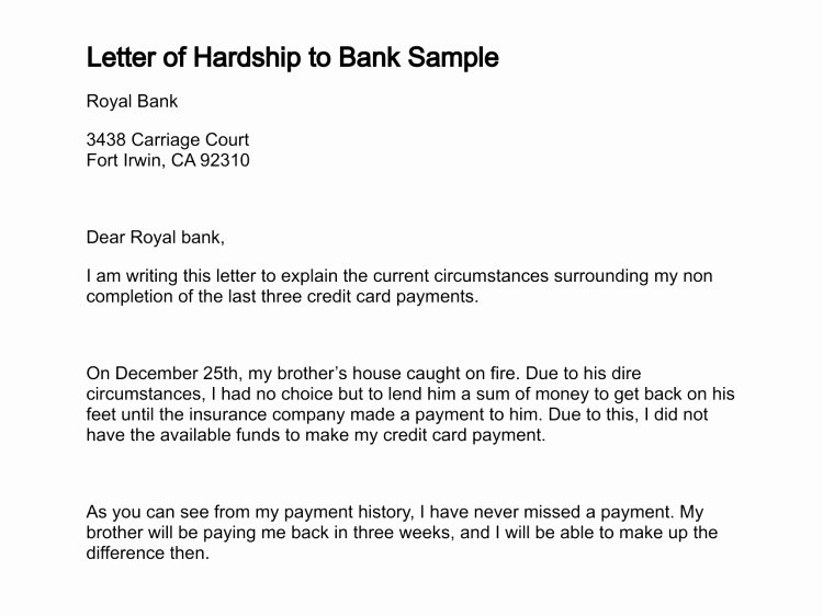 Letter Of Explanation for Late Payment Elegant 30 Explaining Late Payments to Underwriter