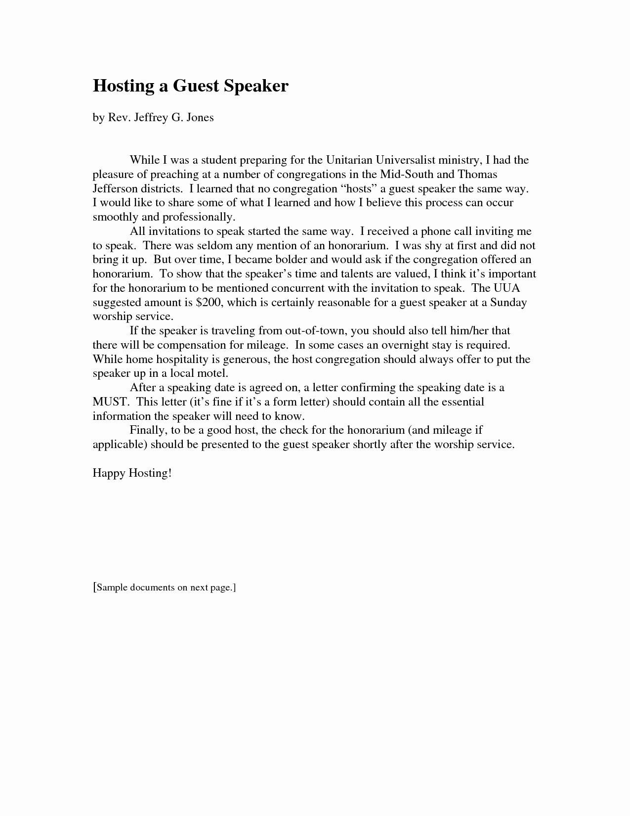 Letter Of Graduation Inspirational Invitation Letter Guest Speaker Graduation Ceremony