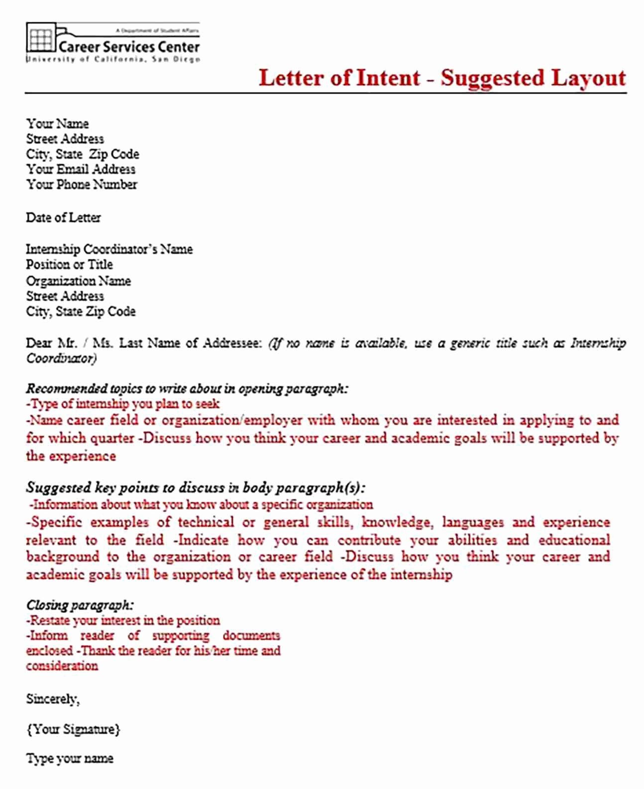 Letter Of Intent for Grad School Luxury Things to Know About Sample Letter Of Intent Graduate
