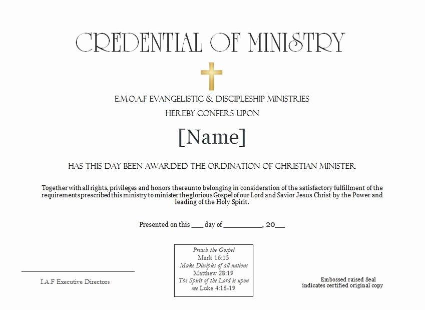 Letter Of ordination Template Elegant Best S Of Sample ordination Service Sample