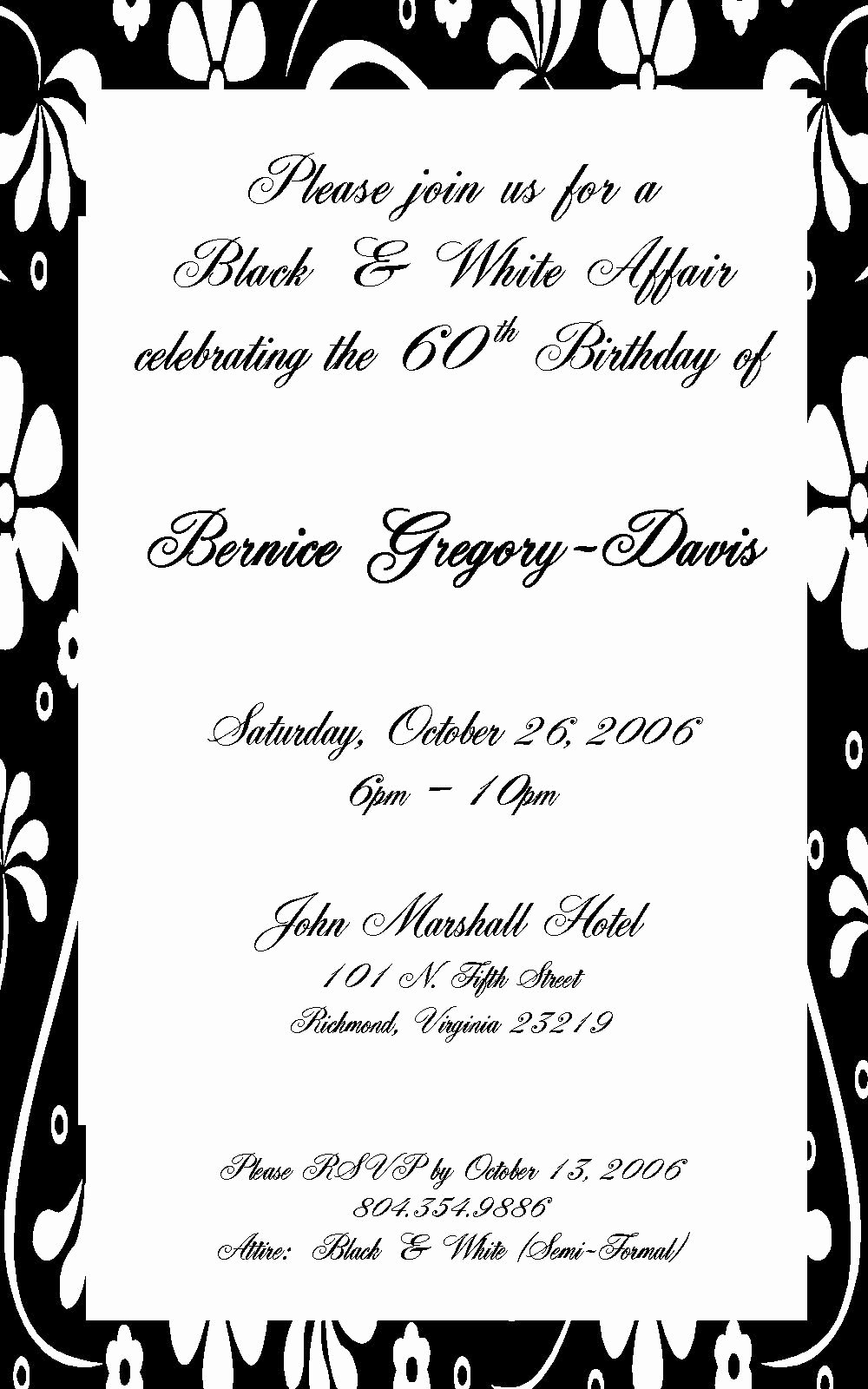 Letter Of ordination Template Lovely 70 Birthday Invitation Wording
