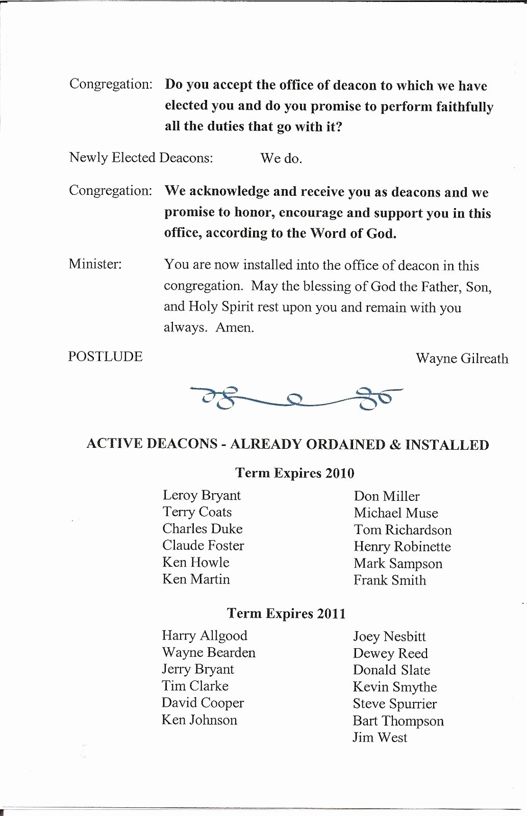 Letter Of ordination Template Unique First Baptist Church Lithia Springs A History Deacon