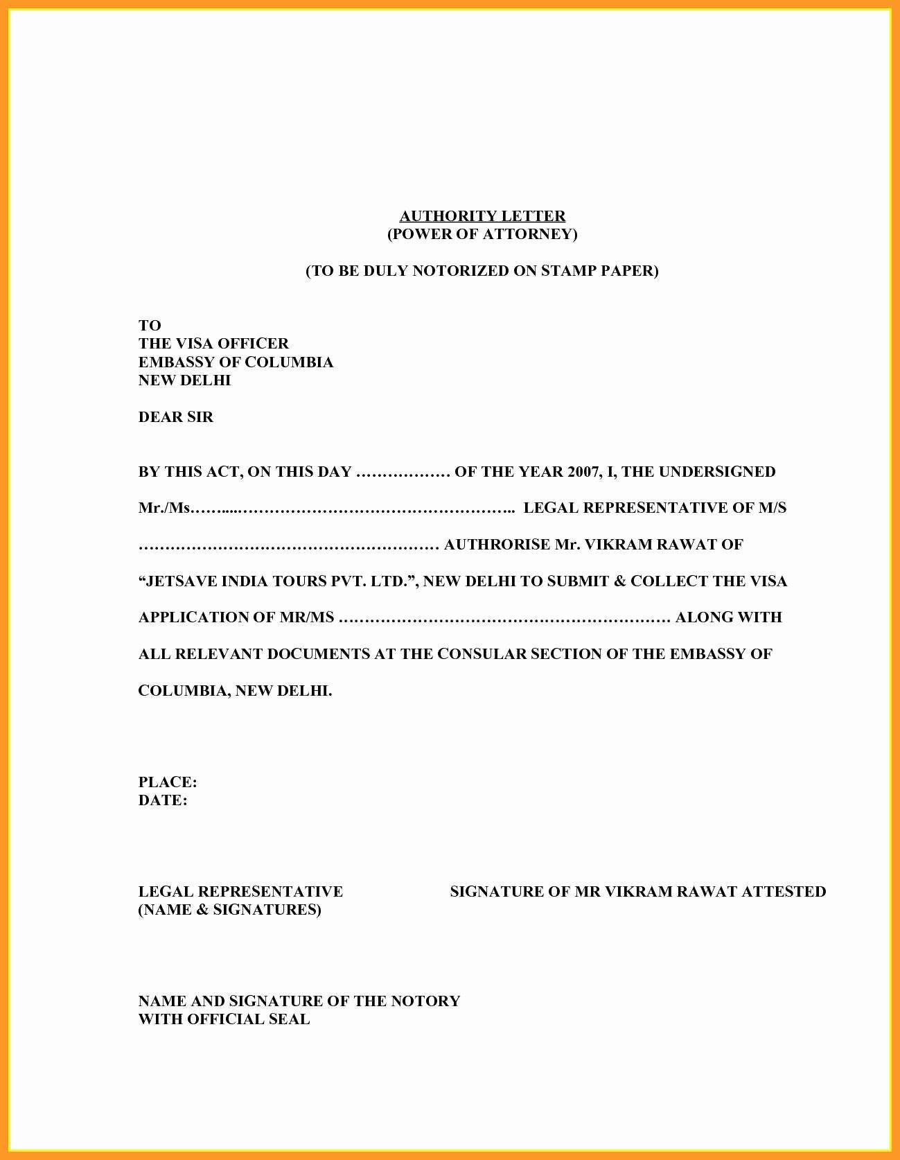 Letter Of Representation attorney Unique 9 10 Sample Legal Representation Letter